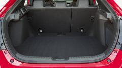 Honda Civic 5 porte 2017: il vano bagagli misura 478 litri