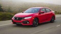 Honda Civic 5 porte 2017: vista 3/4 anteriore
