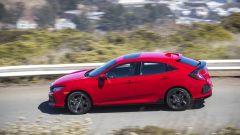 Honda Civic 5 porte 2017: vista laterale
