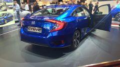 Honda Civic Hatchback, la coda