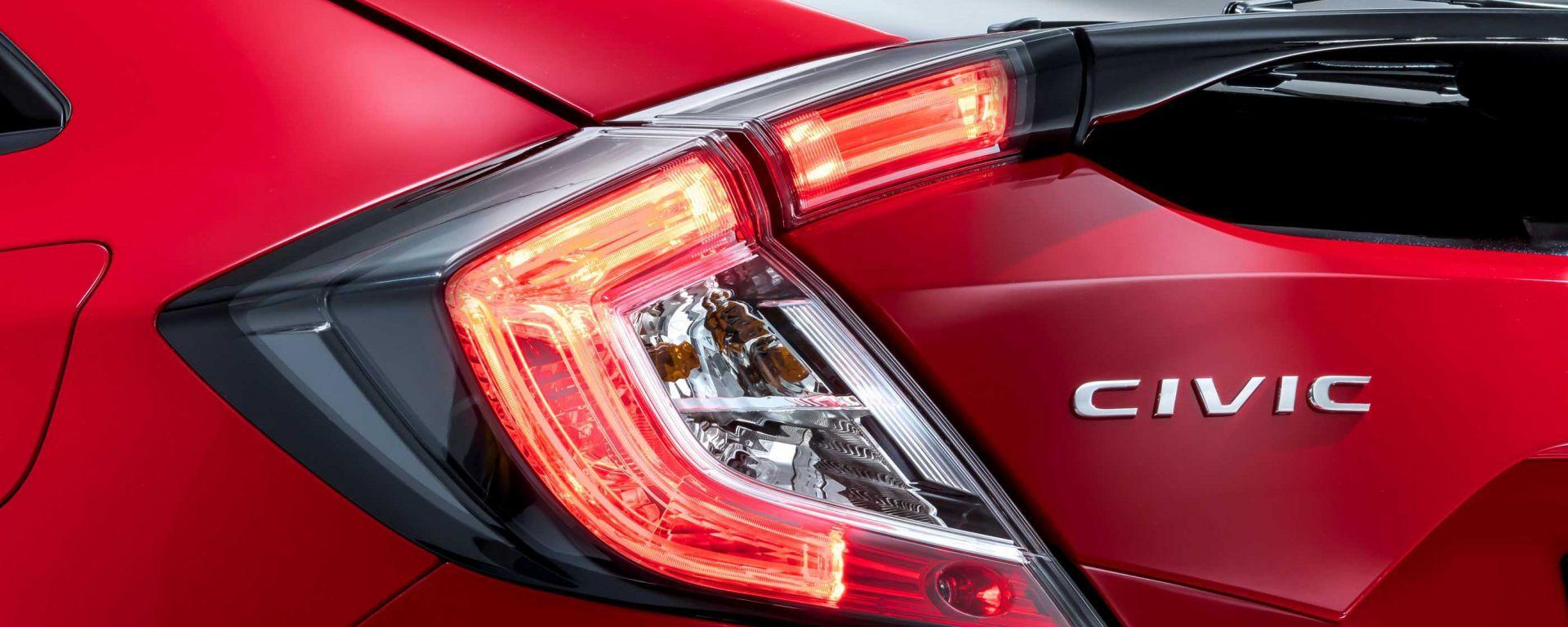 Honda Civic: il primo teaser della decima generazione, attesa al Salone di Parigi