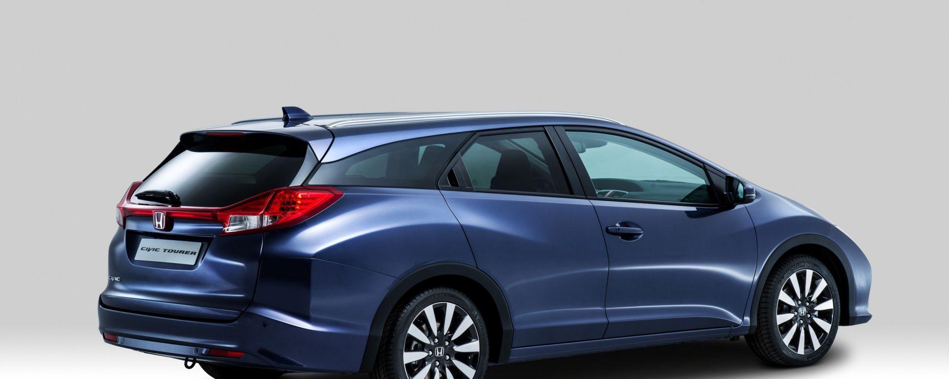 Honda Civic Tourer: le foto ufficiali