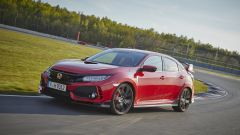 Honda Civic Type-R 2017 al Lausitzring