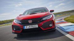 Honda Civic Type-R 2017: il frontale