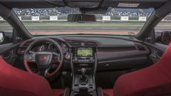 Honda Civic Type-R 2017: la plancia