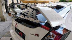 Honda Civic Type-R 2017: l'ala posteriore da stabilità in velocità