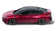 Honda Clarity Fuel Cell: vista laterale dall'alto