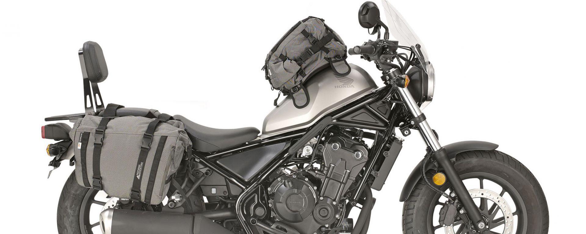 Honda CMX Rebel: Kappa presenta la personalizzazione da viaggio