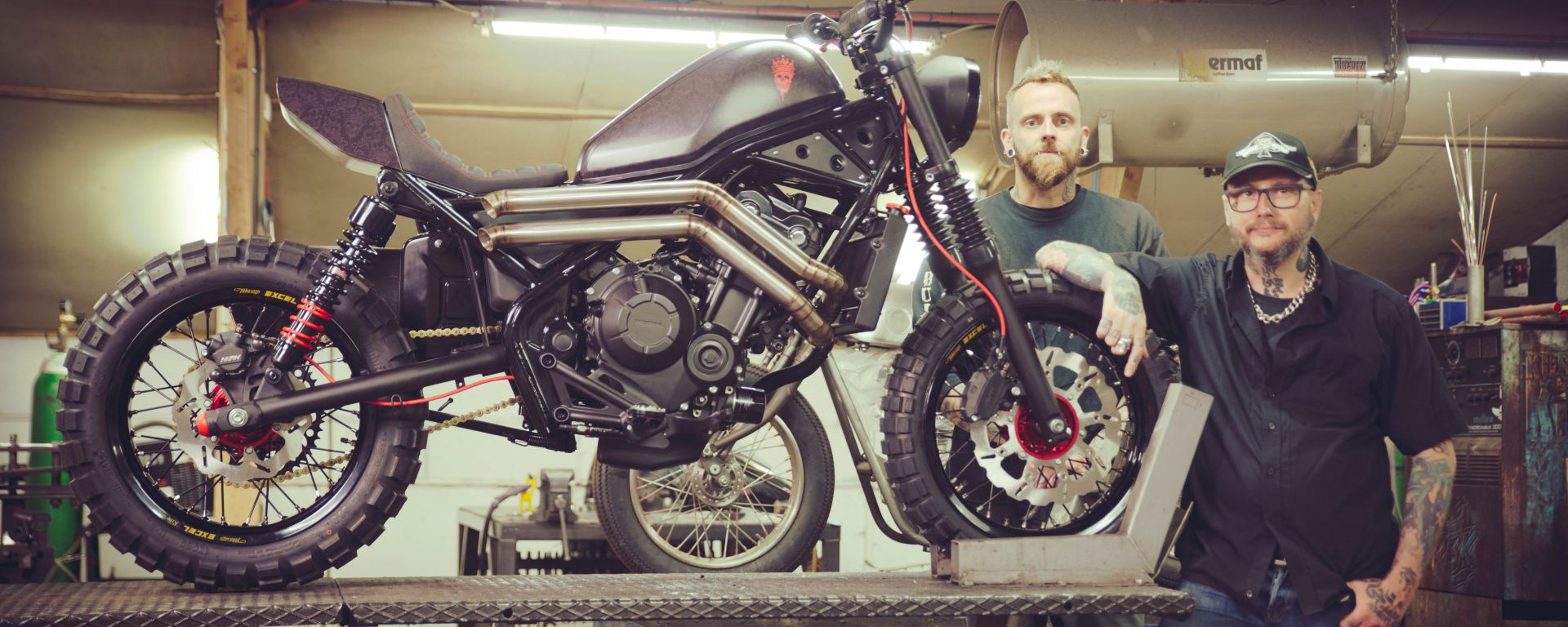 Honda CMX500 Rebel Special al The Bike Shed 2017