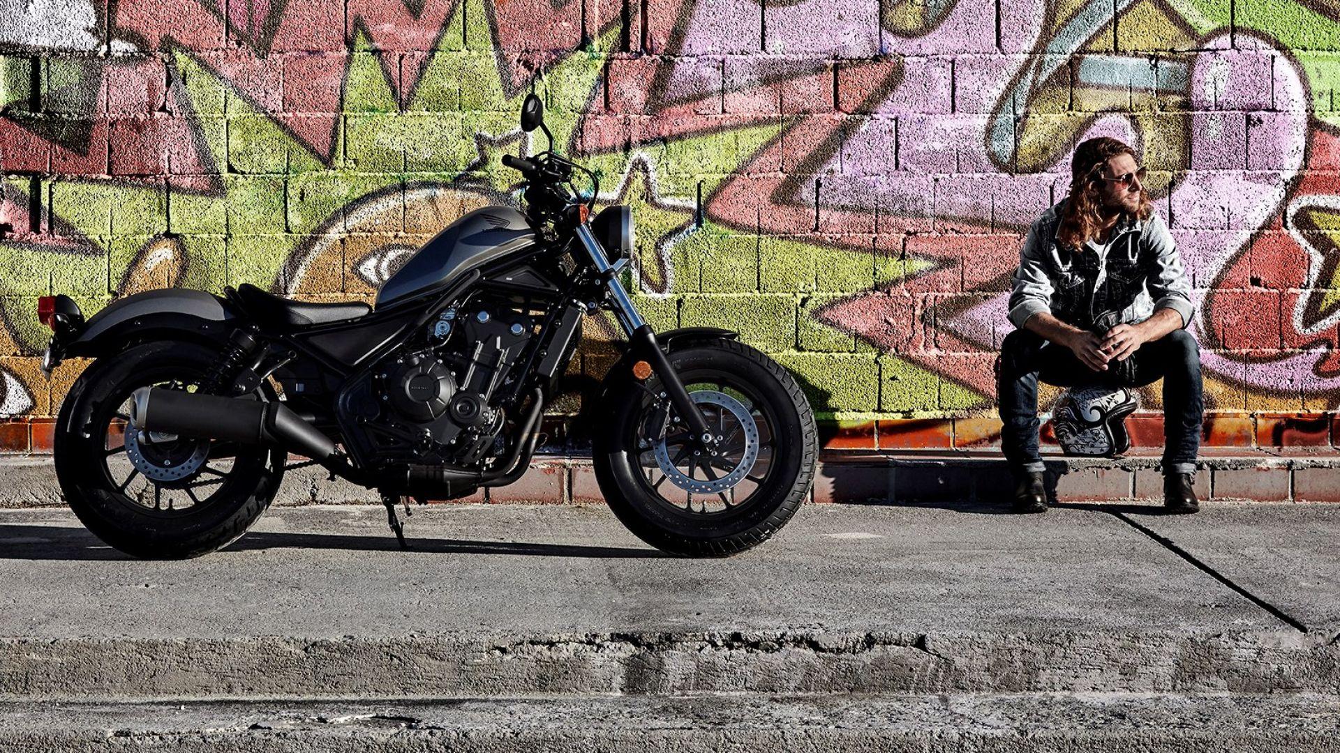 Novit moto honda cmx500 rebel una nuova custom a long for Long beach honda