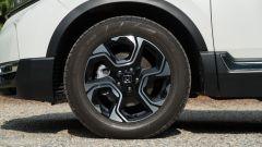 Honda CR-V Hybrid: dettaglio cerchi in lega da 18