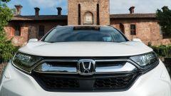 Honda CR-V Hybrid: dettaglio della calandra