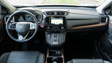Honda CR-V Hybrid: dettaglio della plancia