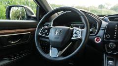 Honda CR-V Hybrid: dettaglio volante