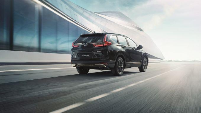Honda CR-V Hybrid e:HEV 2021 Sport Line: il posteriore