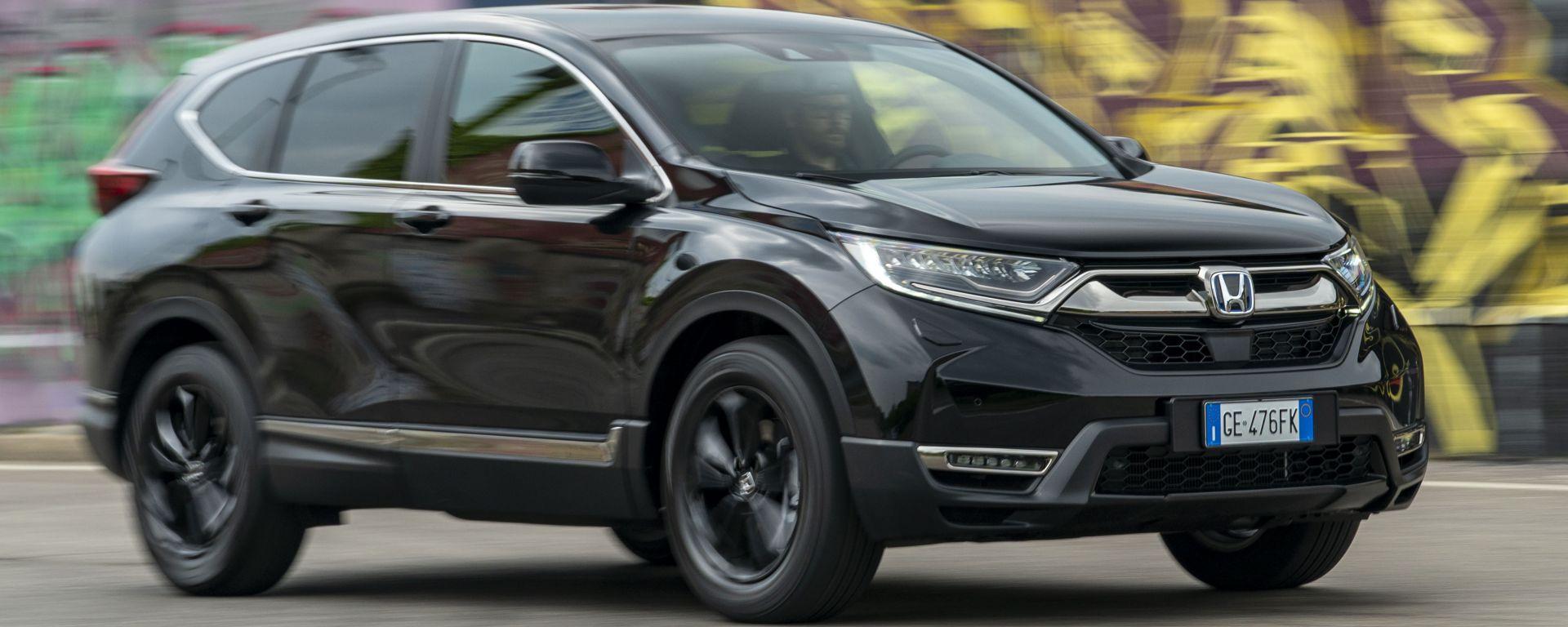 Honda CR-V Hybrid e:HEV, il test drive