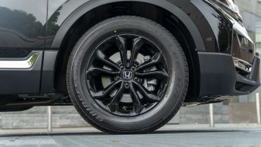 Honda CR-V Hybrid e:HEV, la ruota anteriore