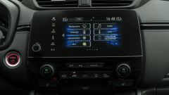 Honda CR-V Hybrid e:HEV, lo schermo dell'infotainment