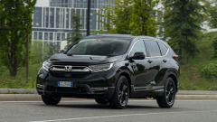 Honda CR-V Hybrid e:HEV, un momento della prova
