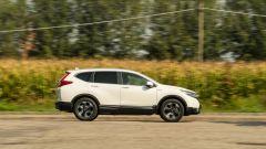 Honda CR-V Hybrid: fiancata destra