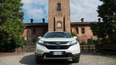 Honda CR-V Hybrid: il frontale