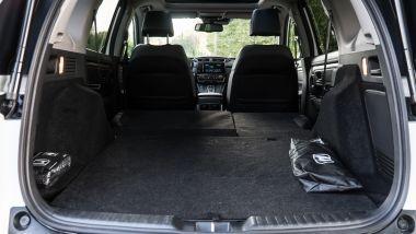 Honda CR-V Hybrid: la capacità del bagagliaio rimane praticamente identica a quello della precedente versione (foto)