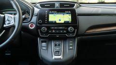 Honda CR-V Hybrid: la console centrale