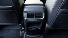 Honda CR-V Hybrid: le bocchette di aerazione posteriori