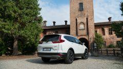 Honda CR-V Hybrid: vista 3/4 posteriore