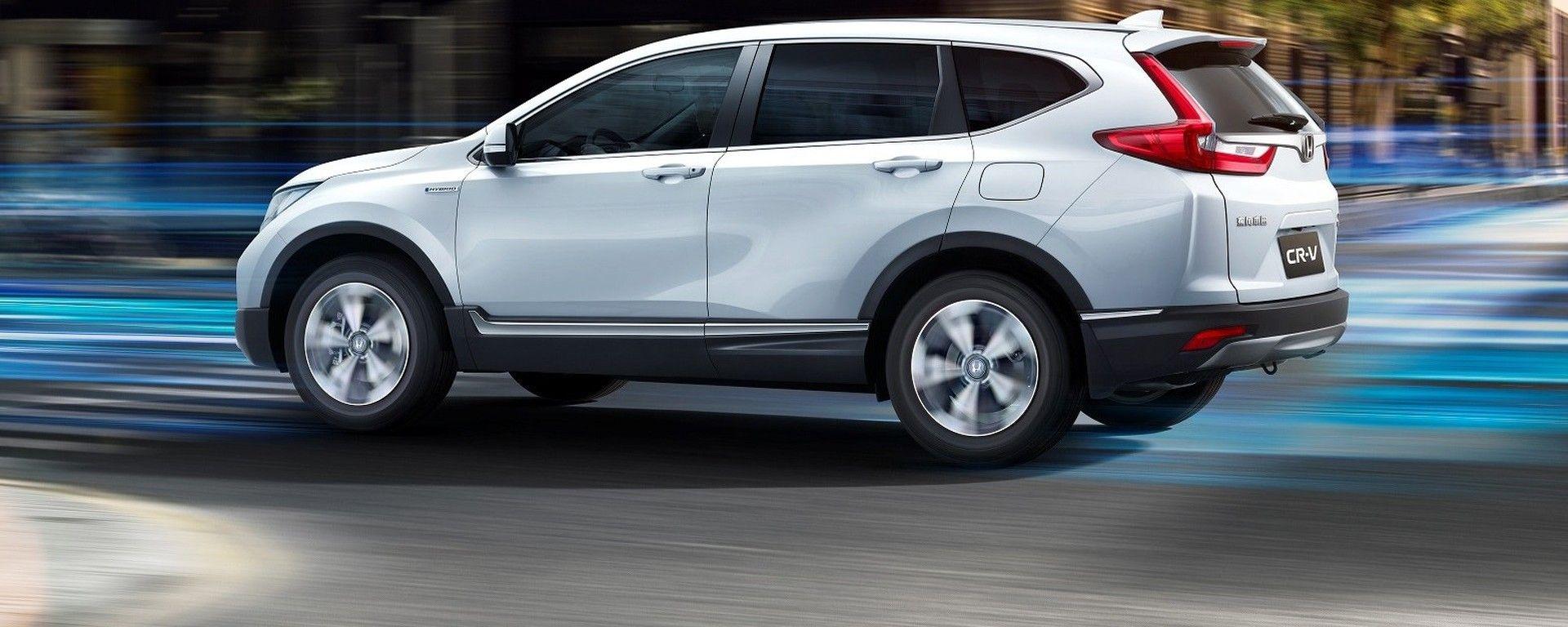 Honda CR-V ibrida: per il momento solo in Cina