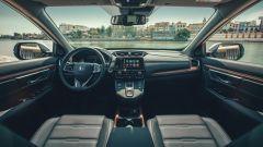 Honda CR-V, la plancia