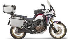 Honda CRF1000L Africa Twin con kit borse GIVI