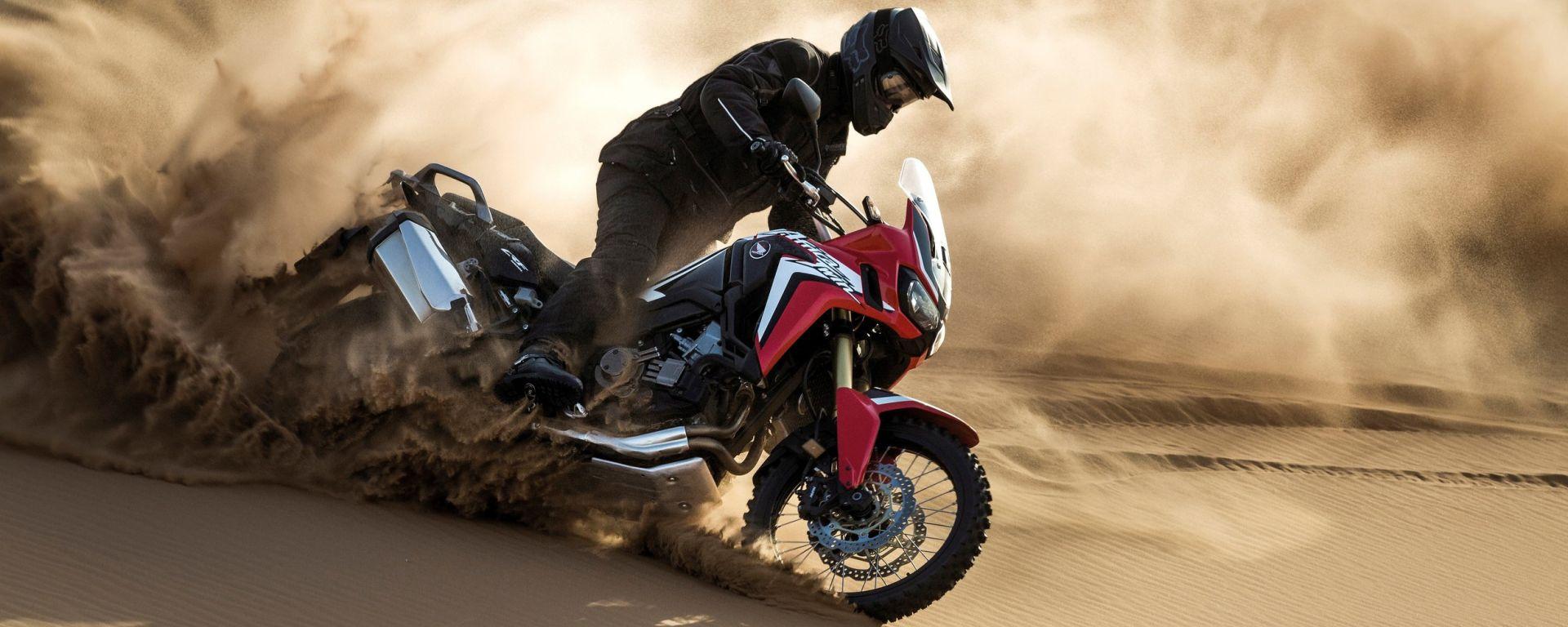 Honda CRF1000L Africa Twin: nuove immagini e video