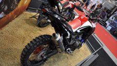 Honda CRF1000L Africa Twin Rally, pneumatici tassellati