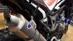 Honda CRF1000L Africa Twin Rally, scarico Termignoni