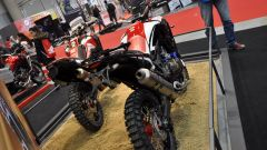 Honda CRF1000L Africa Twin Rally, vista posteriore