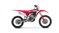 Honda CRF250R, vista laterale destra