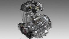 Honda CRF450RX, motore
