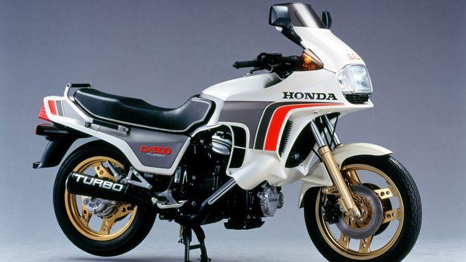 Honda CX500 Turbo: la prima moto di serie sovralimentata