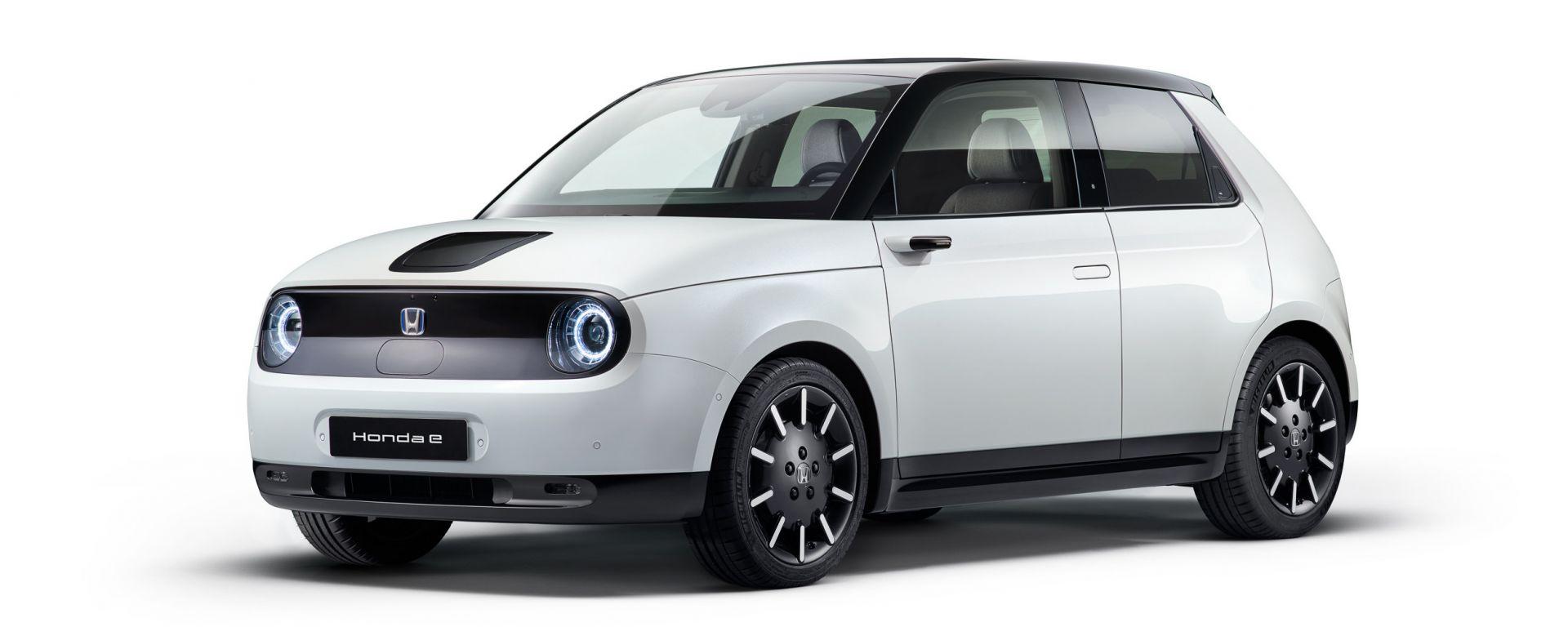 Due Red Dot Awards per Honda e, la citycar elettrica giapponese