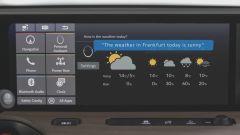 Honda e, interfaccia 100% digitale