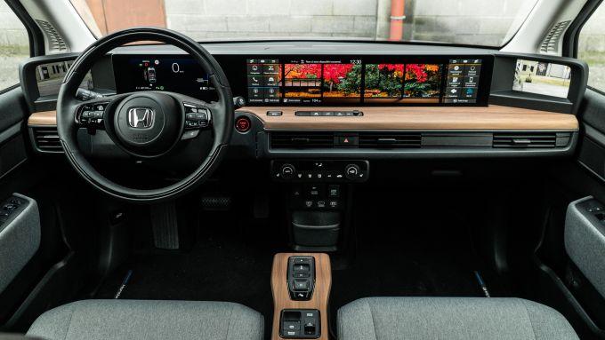 Honda-e: la plancia
