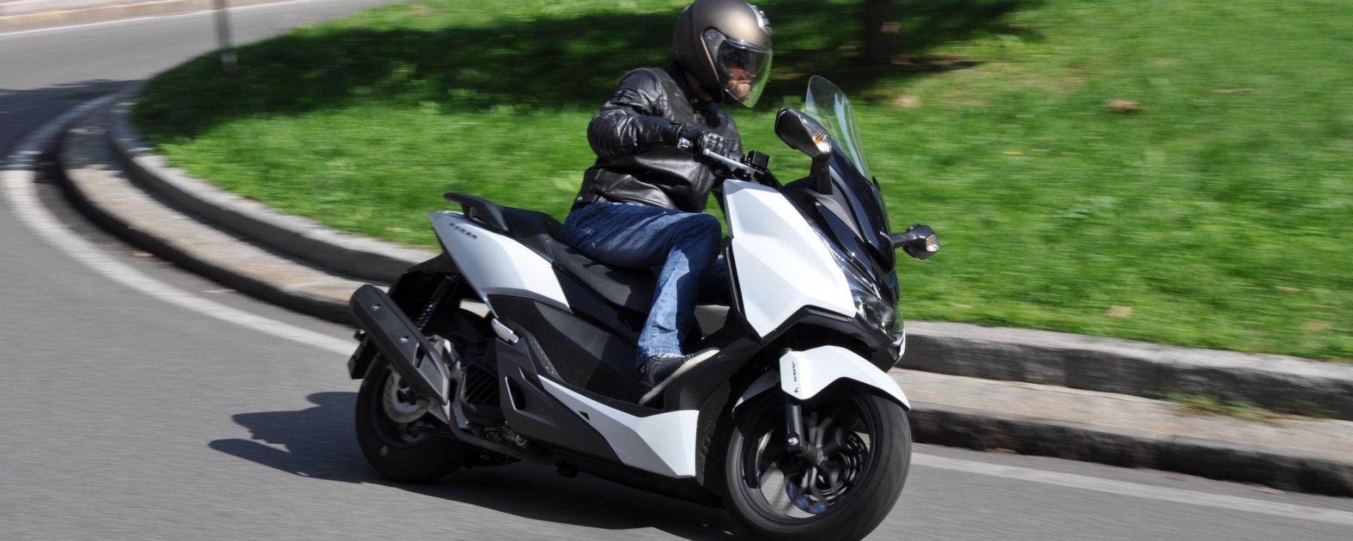 Test Ride Honda Forza 125 Abs Motorbox