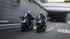 Honda Forza 300 e Yamaha X-Max 300 testa a testa