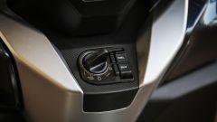 Honda Forza 300: il blocchetto di avviamento keyless