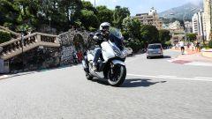 Honda Forza 300: il test sulle strade di Montecarlo