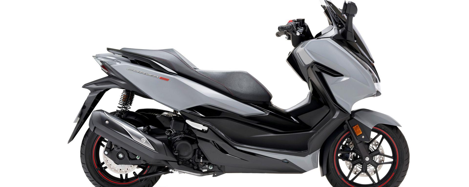 Honda Forza 300 Limited Edition: vista laterale destra