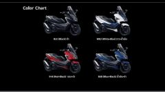Honda Forza 350: i colori della gamma per il mercato tailandese