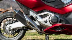 Honda Forza 750, dettaglio dello scarico