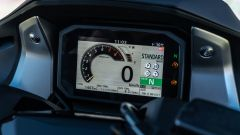 Honda Forza 750, la strumentazione TFT